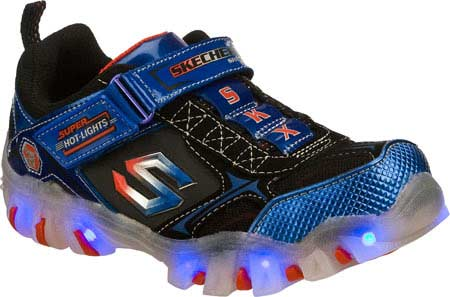 skechers light up chaussures chemical burn
